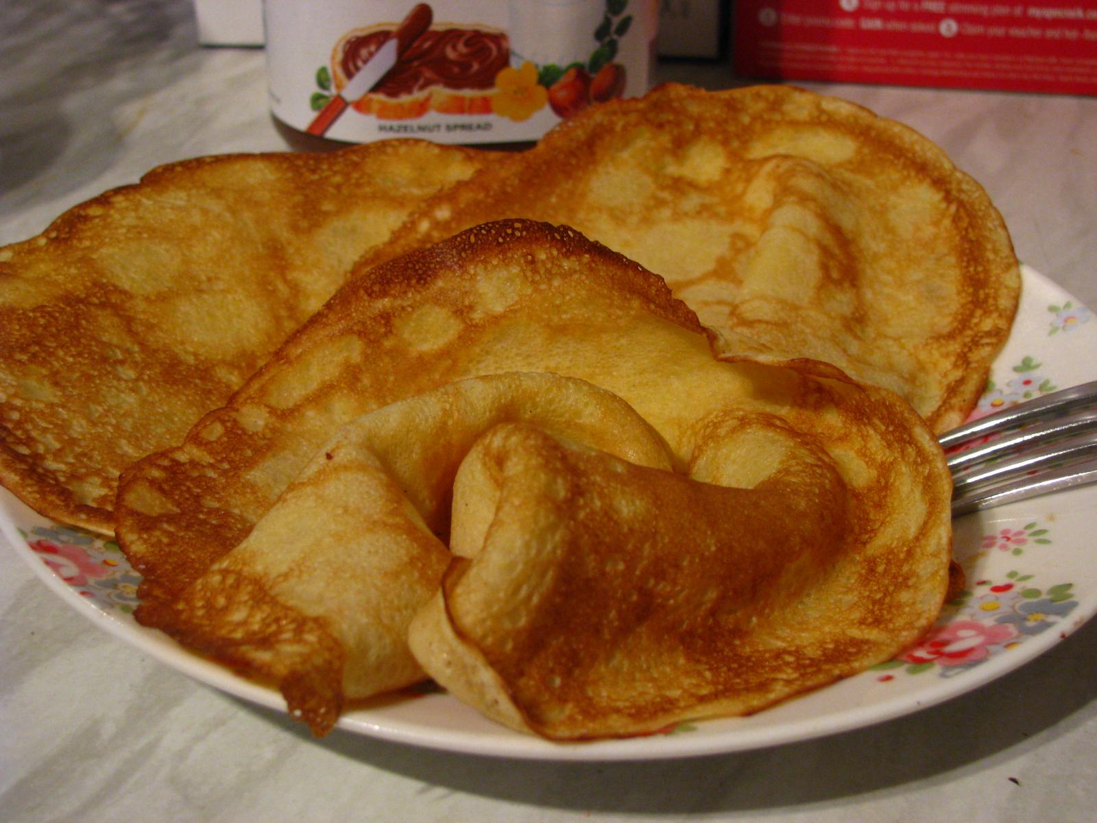 Дрожжевые блинчики ажурные на молоке рецепт с пошагово с дырочками с