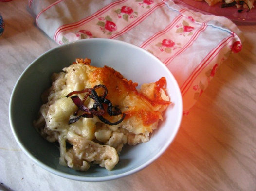cheese spaetzle käse spätzle