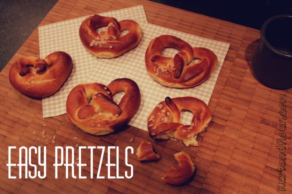 easy pretzels recipe
