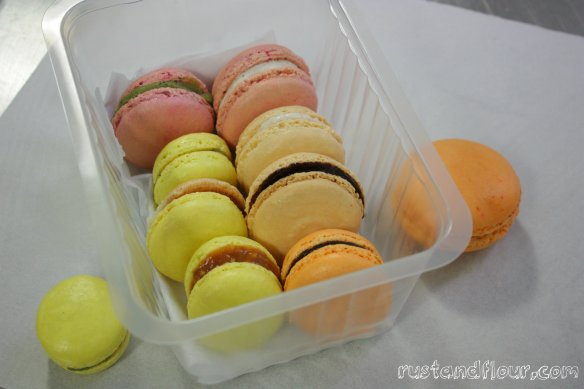 macaroons L'Atelier des Chefs in London