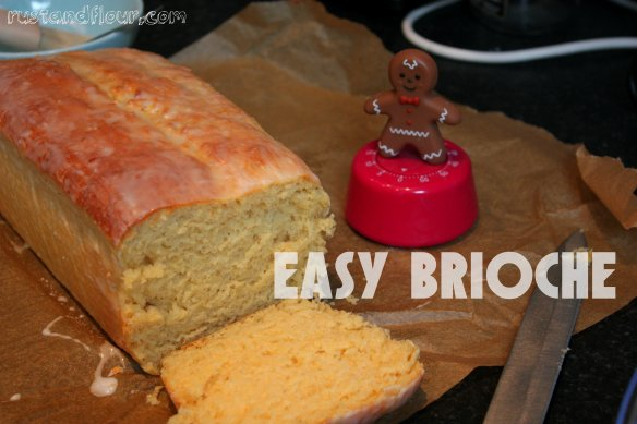 brioche easy recipe