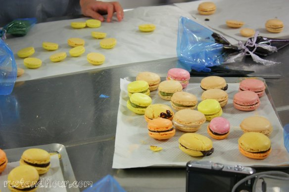 macaroon class at L'Atelier des Chefs London