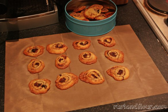 Marzipan Cherry Biscuits